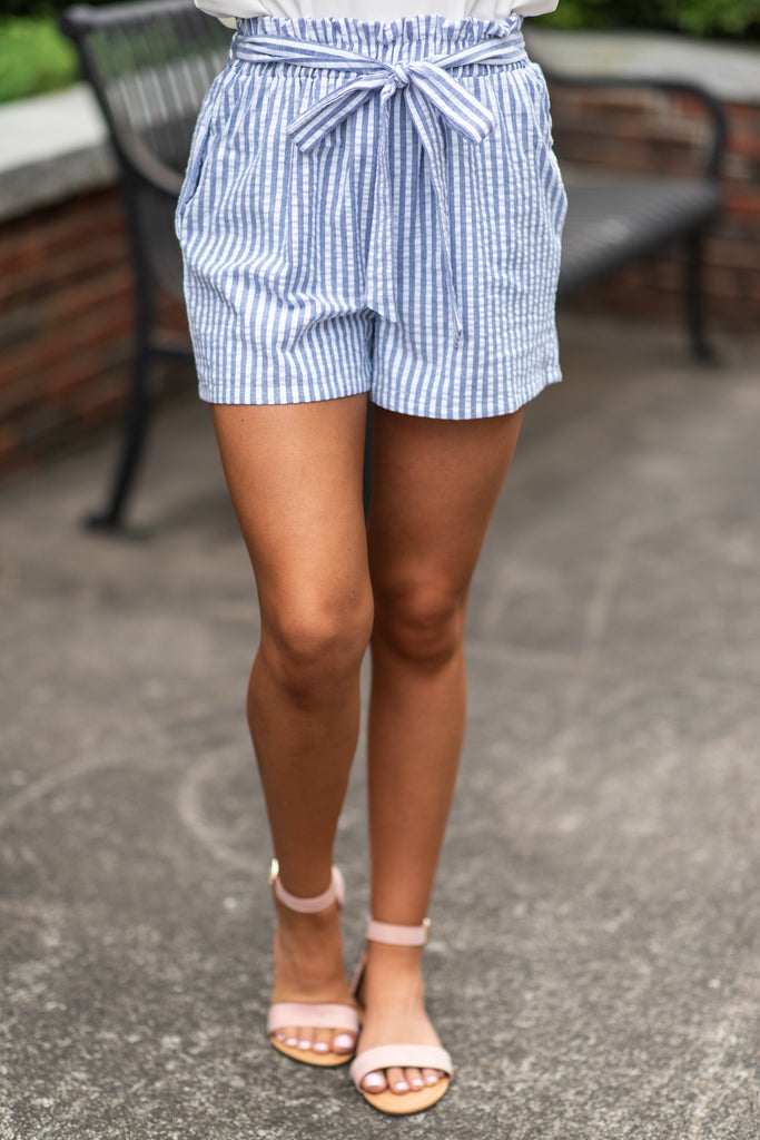 Always In Love Shorts, Navy