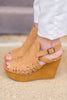 High Key Wedges, Tan