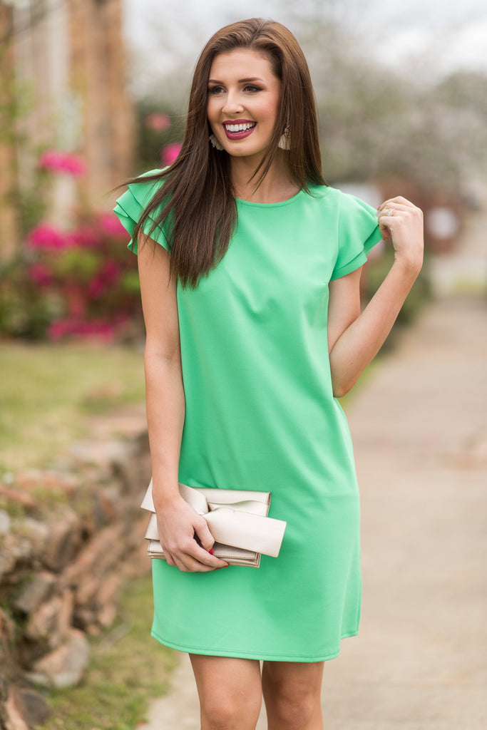 Beauty Bound Dress, Green