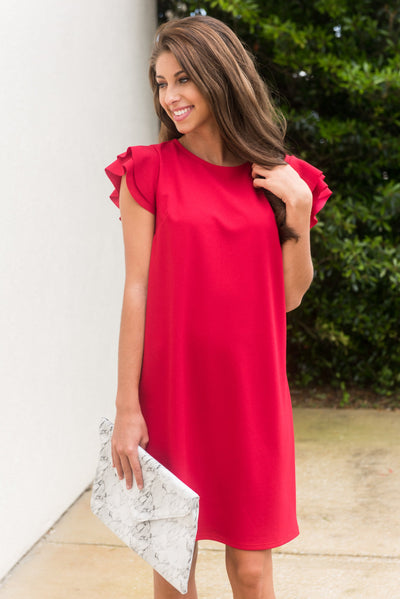 Beauty Bound Dress, Red