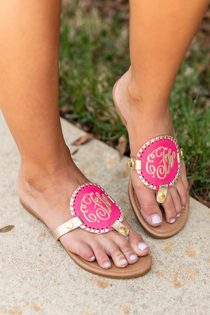 Mix And Always Match Hot Pink Sandals