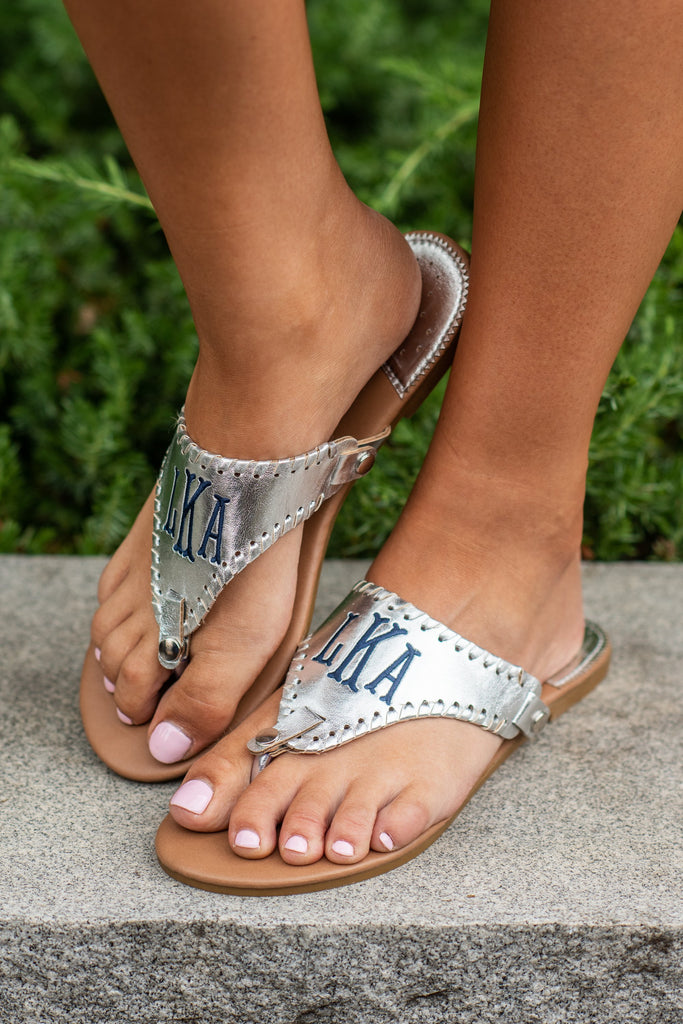Know You So Well Sandals, Silver