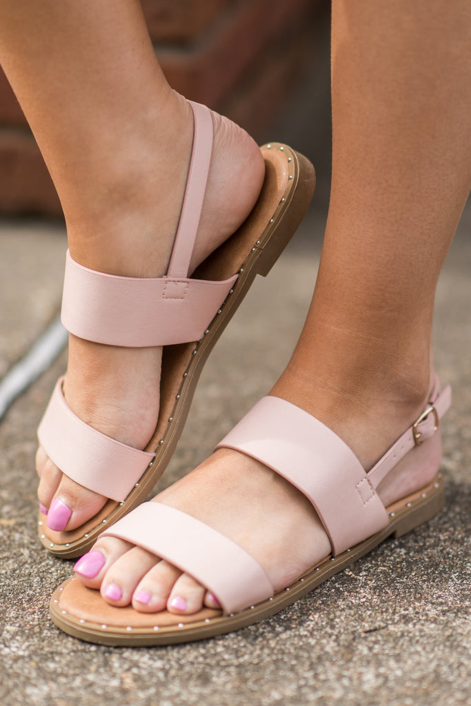 Create Your Own Happy Sandals, Blush