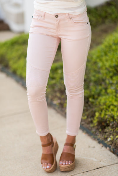 On A Roll Skinny Jeans, Blush