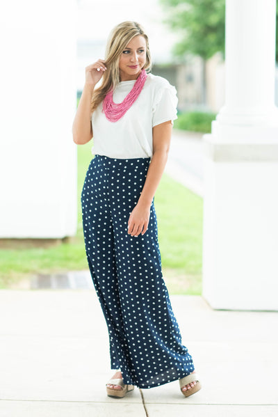 Boss Babe Pants, Navy