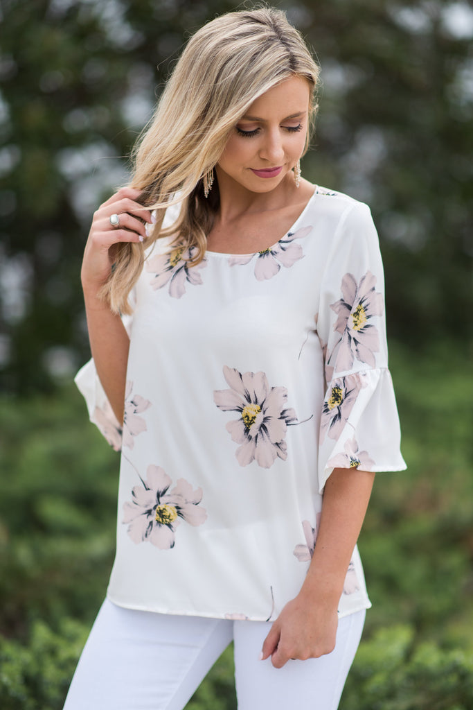 Beauty Bliss Top, Ivory