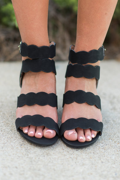 You're So Sweet Wedges, Black