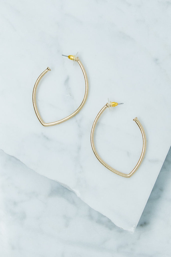 Always Be You Earrings, Gold
