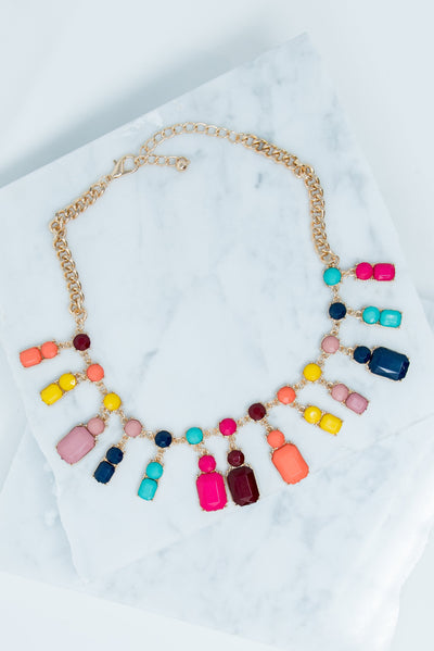 Be Bold, Be Beautiful Necklace, Multi