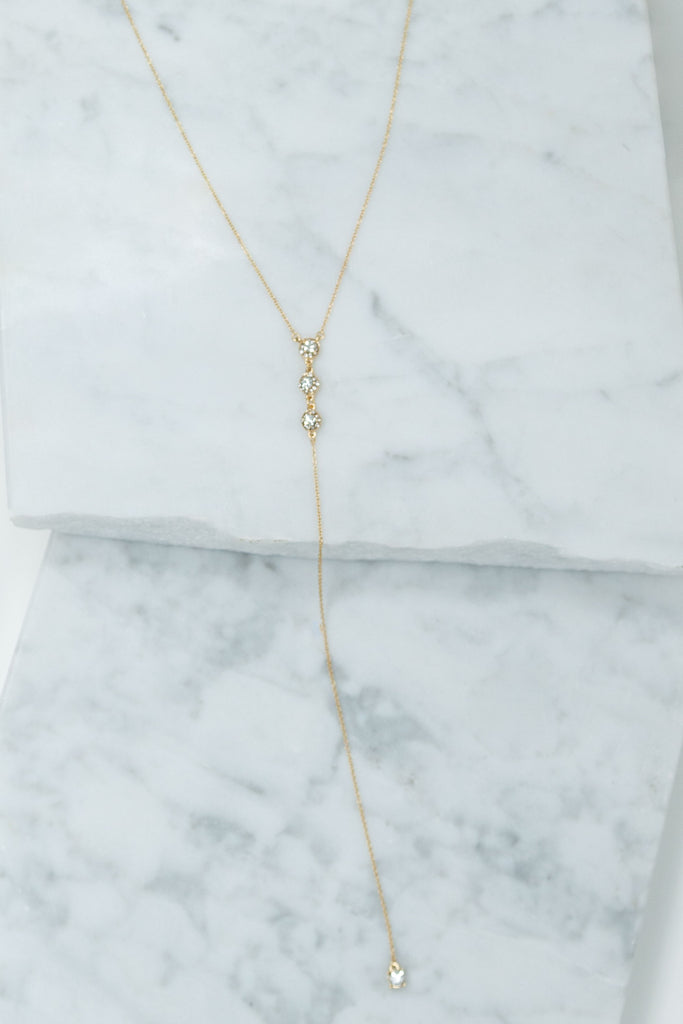 Easy To Love Necklace, Gold