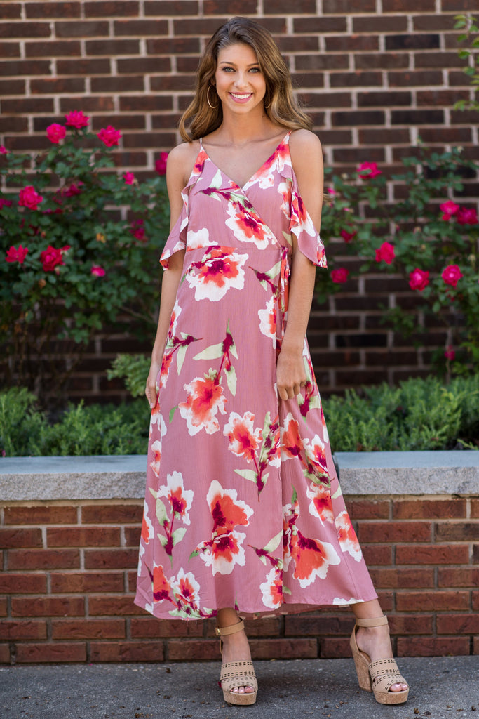 Can't Get Over You Maxi Dress, Mauve
