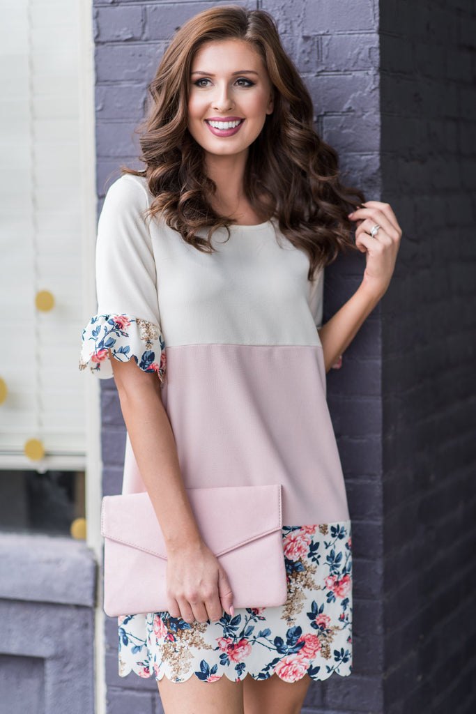 Discovered Beauty Dress, Blush