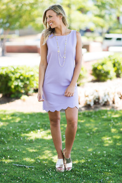 See You on The Dance Floor Dress, Lavender
