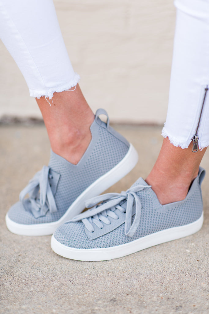 Committed To Casual Sneakers, Gray