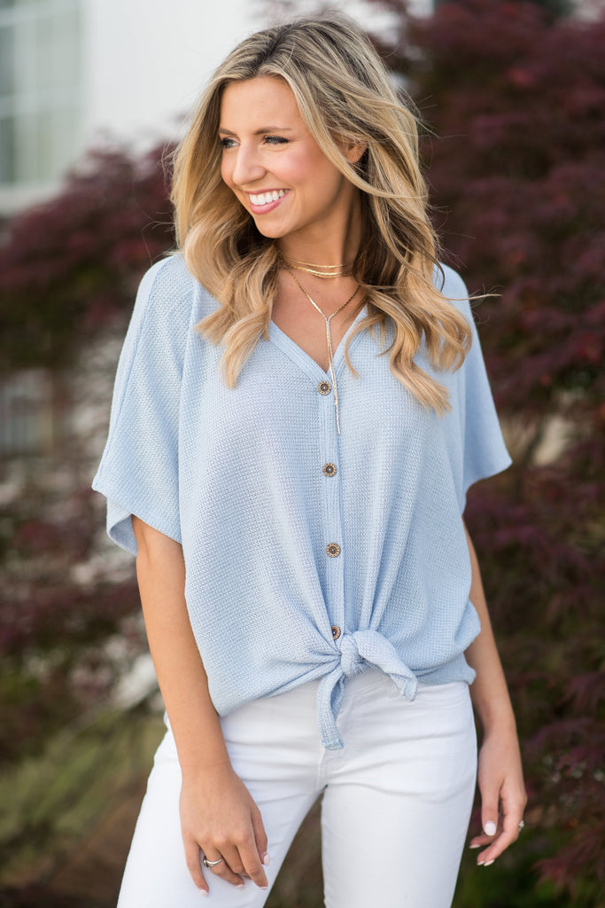 Best Of The Best Top, Light Blue