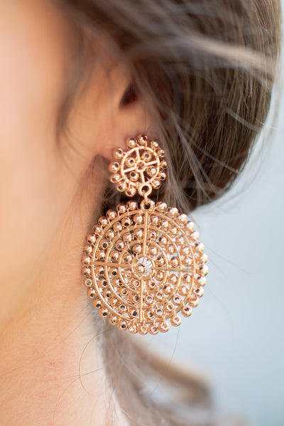 The Stand Out Earrings, Gold