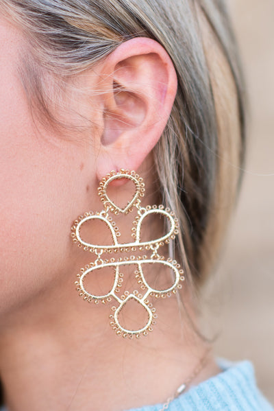 To Infinity Earrings, Gold