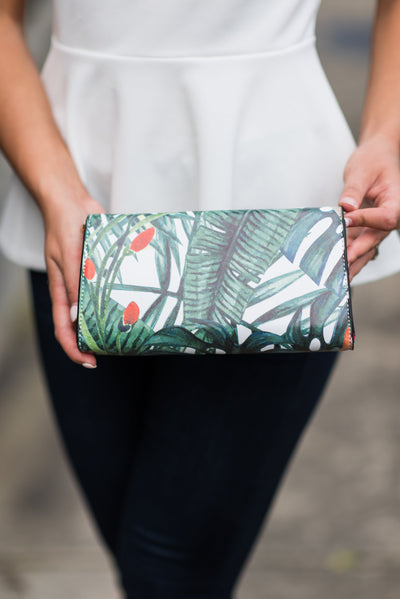 Tropical Transitions Clutch, Coral