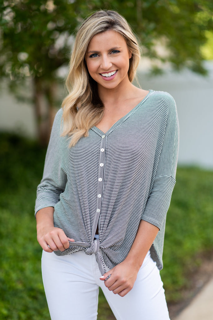 Always A Favorite Top, Charcoal