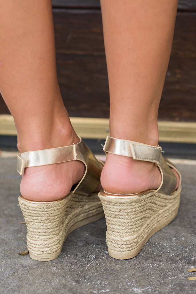 3e1c959f8dd ... Champagne Can t Stop Your Shine Wedges