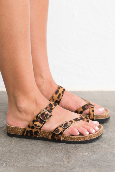 Today And Everyday Sandals, Cheetah