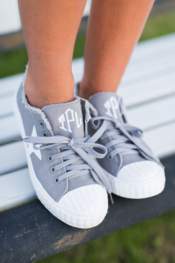 Be A Star Sneakers, Gray