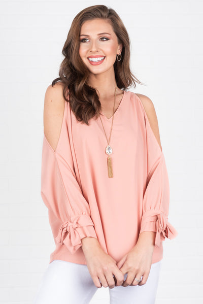 Aware Of The Beauty Top, Blush