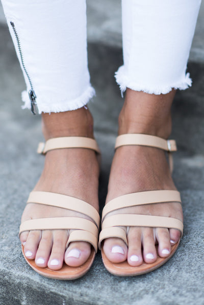 Nothing Like The Next Sandals, Nude
