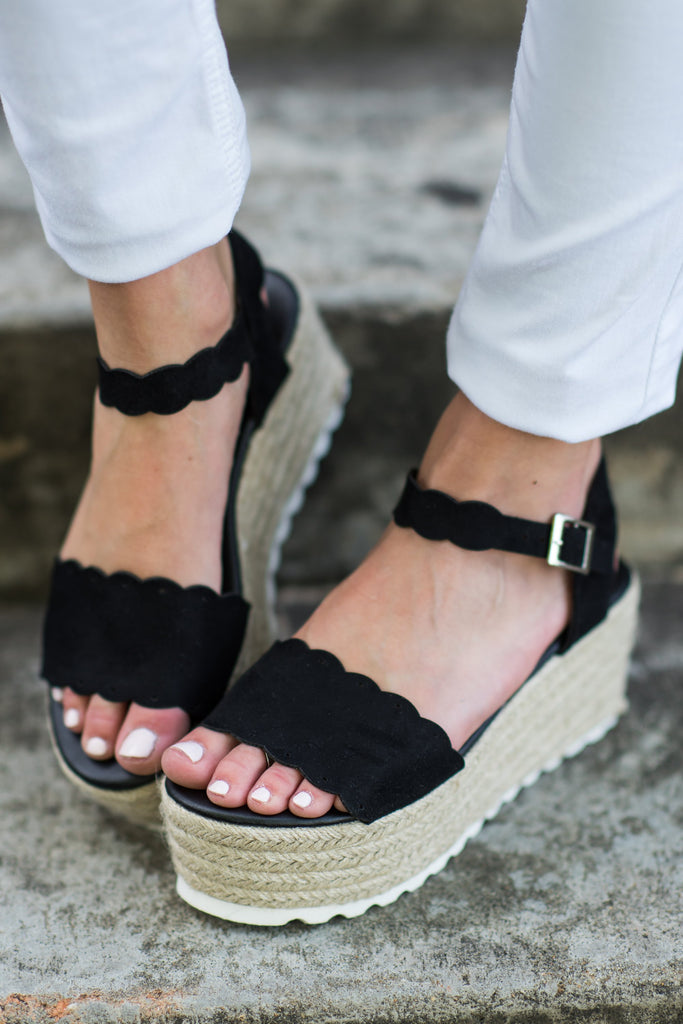 Daytime Adventures Wedges, Black