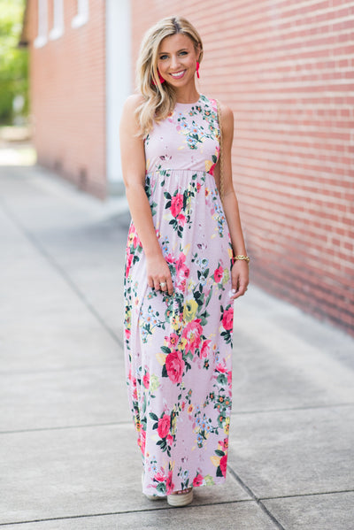 A Day In Love Maxi Dress, Pink