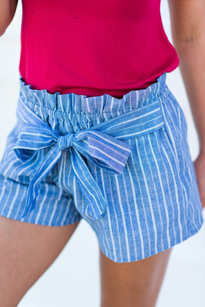 Passion For Preppy Shorts, Blue