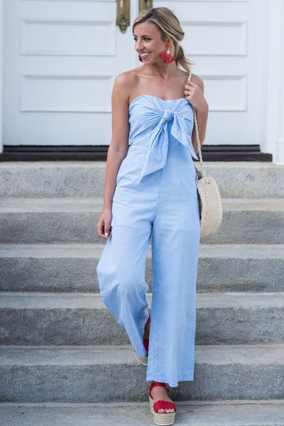 Nothing Like Love Jumpsuit, Blue