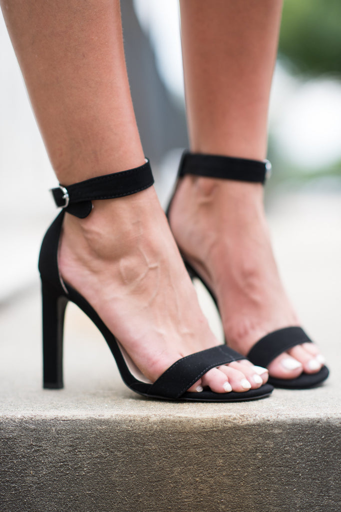 Meet You On The Dance Floor Heels, Black