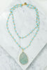 Raw & Rebellious: Baby Blues Necklace, Blue