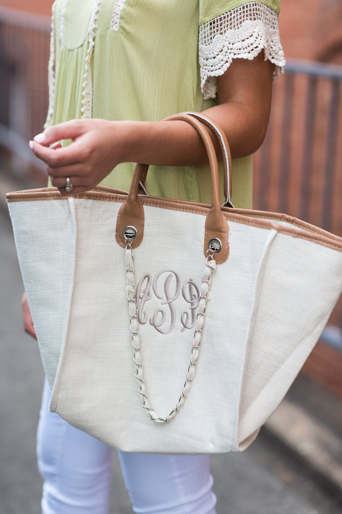 The Perfect Day Purse, Tan