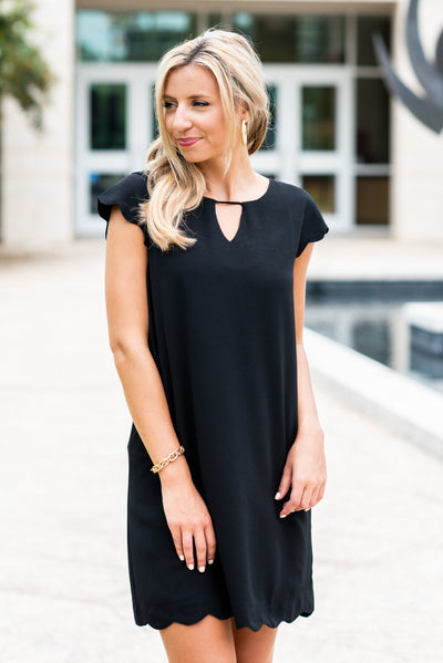 Getting Closer To You Dress, Black