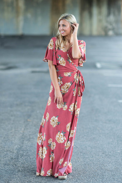 The Promise Maxi Dress, Terracotta