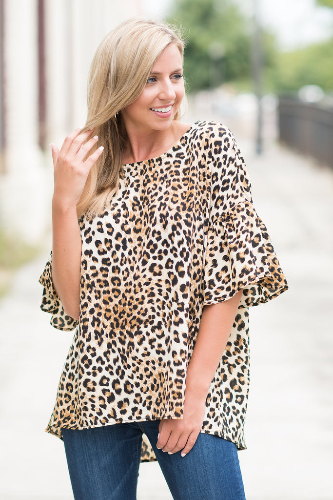 Better Than Bold Top, Leopard