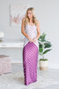 Get The Look Maxi Dress, Purple-Multi