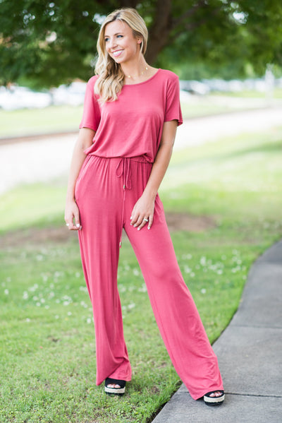 The Look Of Chic Jumpsuit, Paprika