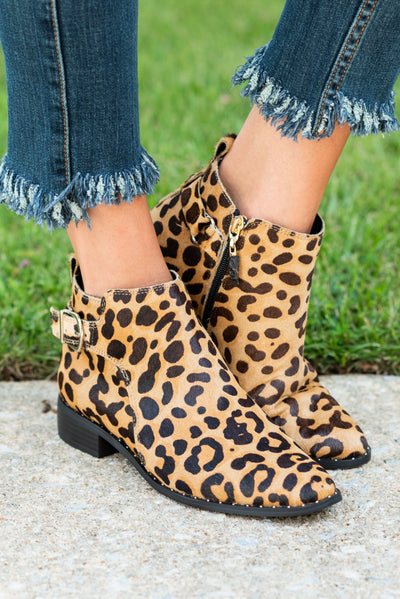 Steven By Steve Madden: The Chavi Booties, Leopard