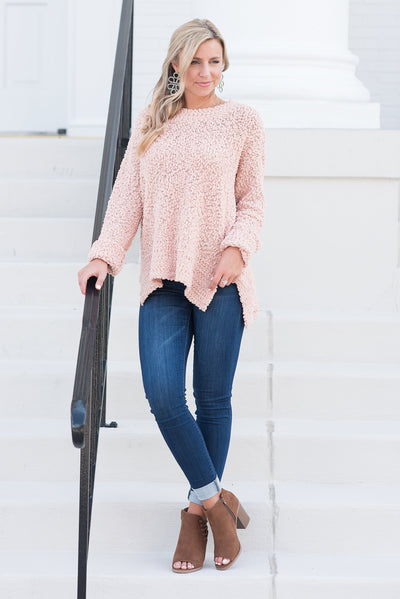 My Scene Sweater, Blush
