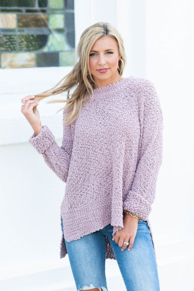 My Scene Sweater, Mauve