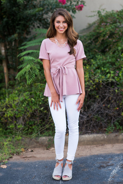Seasonally Sweet Top, Rose