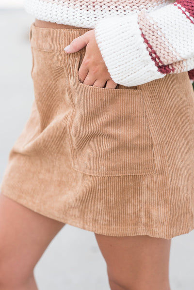 Most Importance Skirt, Camel