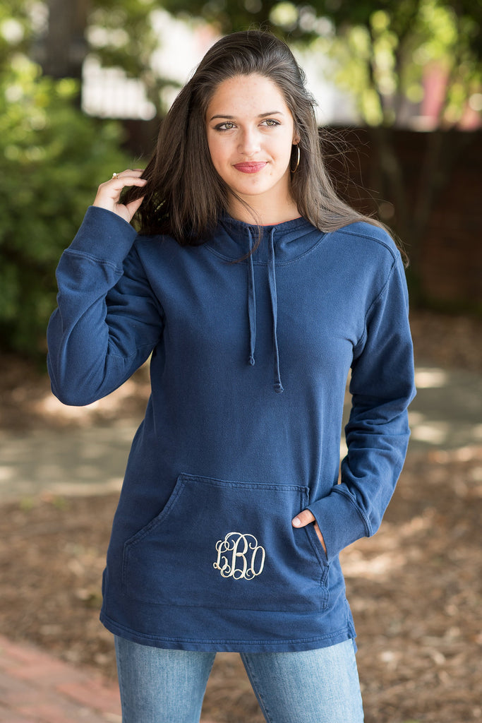 Comfort Colors: Cozy Calls Pullover, Navy