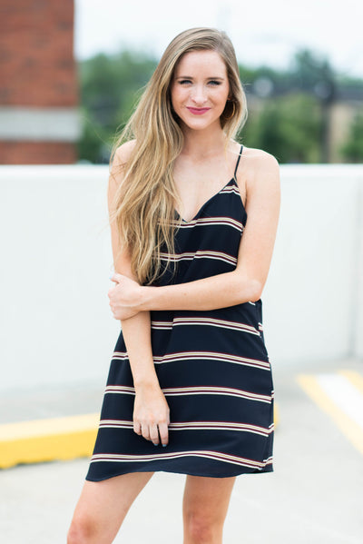 Always A Vision Dress, Navy