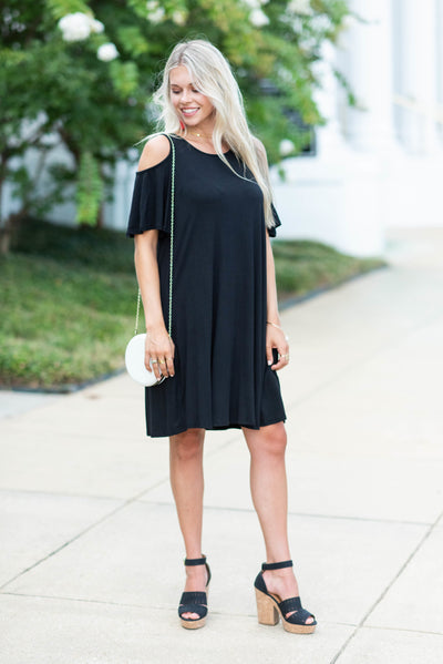 Thinking About You Dress, Black
