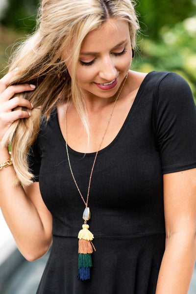 Beauty In Bold Necklace, Multi