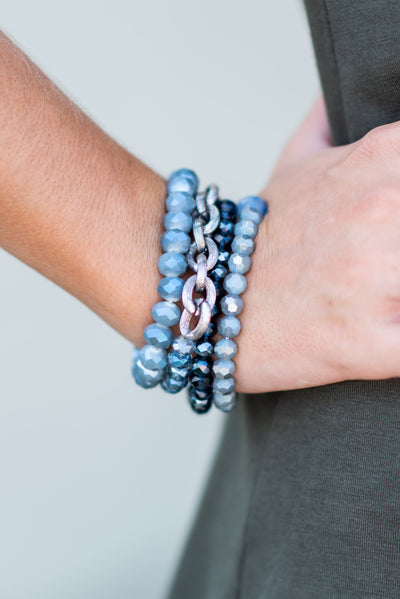 All The Love Bracelet, Navy